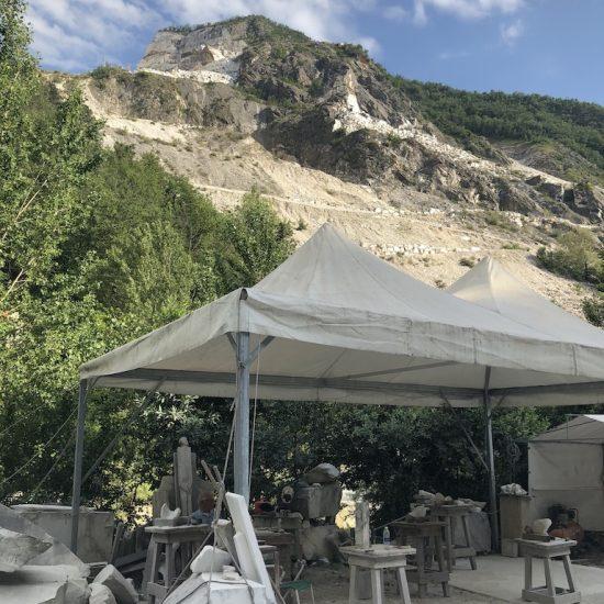Sculpting workshop, Carrara, Italy