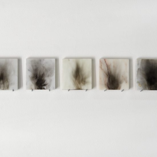 Sylvia Griffin soot on marble Second Skin