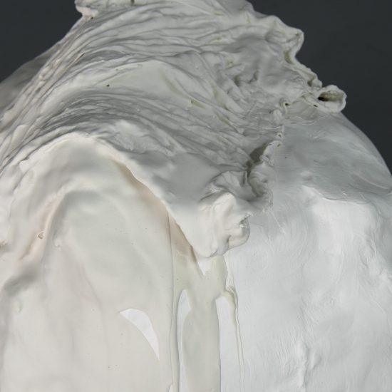 Sylvia Griffin plaster sculpture Second Skin